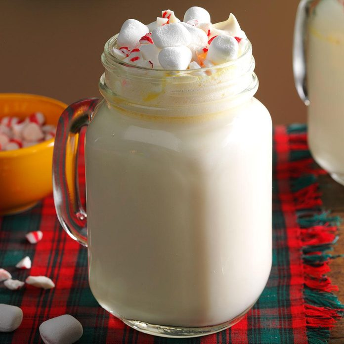 Inspired by: Starbucks Peppermint White Hot Chocolate