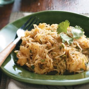 Spaghetti Squash with Moroccan Spices