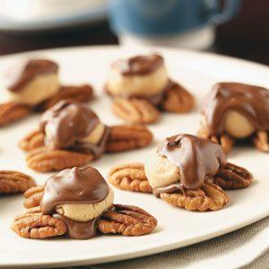 Peanut Butter Turtle Candies