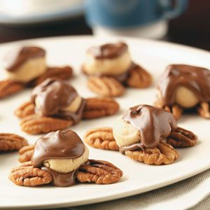 Peanut Butter Turtle Candies