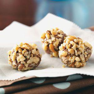 Maple Nut Truffles