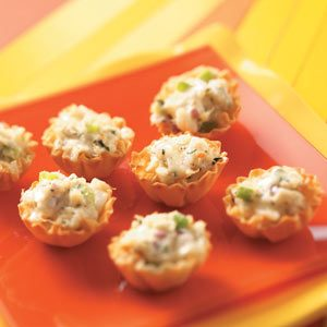 Crab Salad Tarts