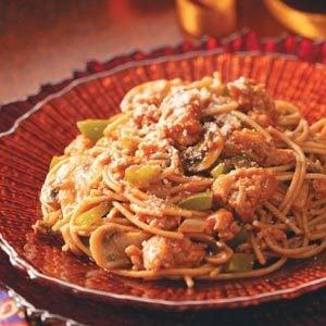 Quick Turkey Spaghetti