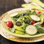 Veggie Tossed Salad for 2
