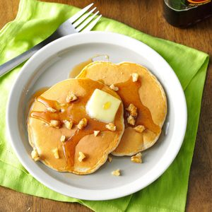 Apple Walnut Pancakes