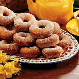Feather-Light Doughnuts