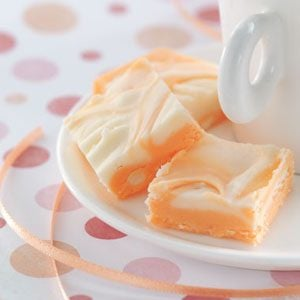 Makeover Marbled Orange Fudge