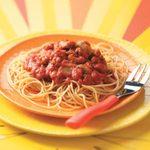 Turkey Spaghetti Sauce