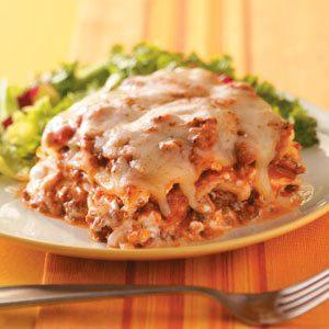 Creamy Onion Lasagna