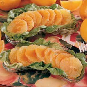 Orange Salad with Honey Dressing