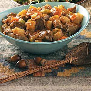 Venison Pepper Stew