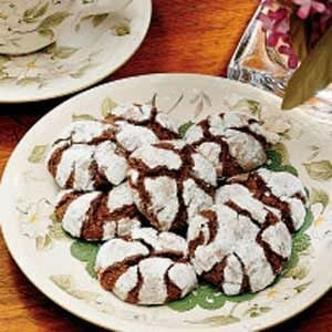 Old-Fashioned Crackle Cookies