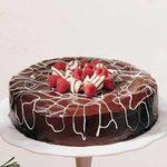 Chocolate-Covered White Cheesecake