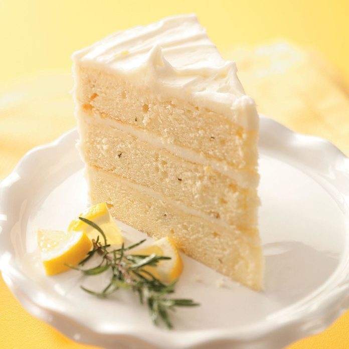 Arizona: Lemon-Rosemary Layer Cake
