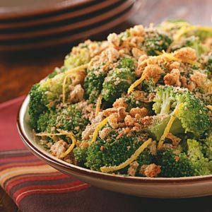 Lemon Crumb-Topped Broccoli