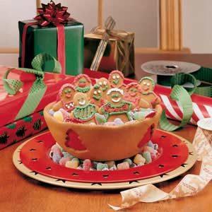 Christmas Cookie Bowl