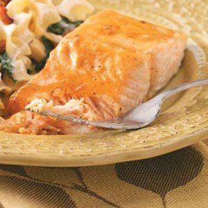 Quick Glazed Salmon