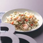Spicy Chorizo & Shrimp Rice For 2