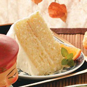 Old-Fashioned Orange Layer Cake