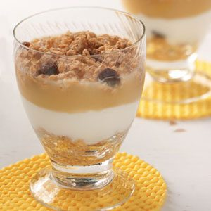 Apple Yogurt Parfaits for Two