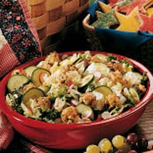 Cheese Ball Salad