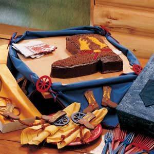 Cowboy Boot Cake