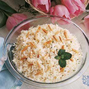 Minted Rice Casserole