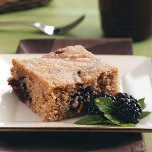 Blackberry Whole Wheat Coffee Cake