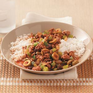 Easy Cuban Picadillo for Two