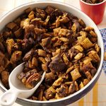 Chocolate Pecan Pie Snack Mix