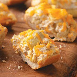 Artichoke-Cheese French Bread
