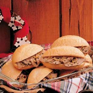 Robust Beef Sandwiches
