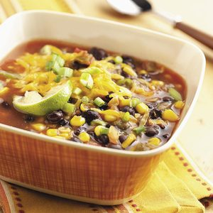 Bart's Black Bean Soup for Two