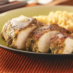 Herb Chicken with Honey Butter for Two