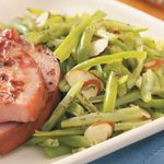 Green Beans with Savory for Two