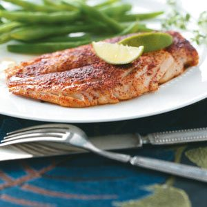Honey-Lime Red Snapper for Two