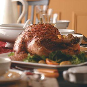 Garlic and Herb Roasted Turkey