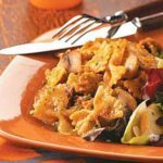 Sausage and Pumpkin Pasta for Two