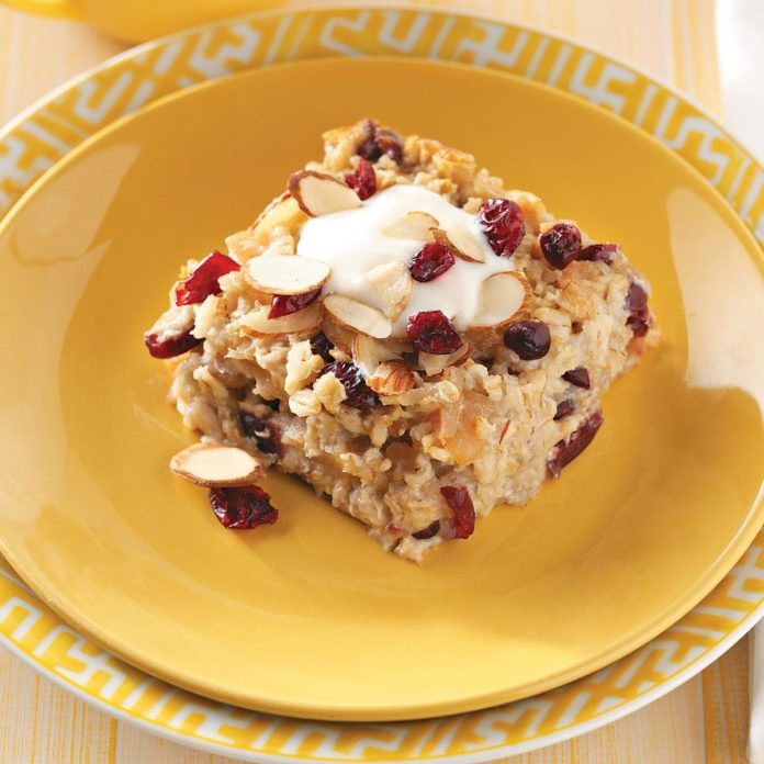 Michigan Fruit Baked Oatmeal