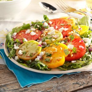 Fresh Heirloom Tomato Salad