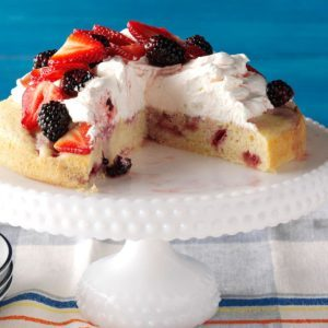 Lemon-Berry Shortcake