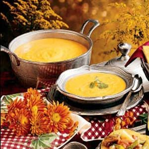 Southwestern Squash Soup