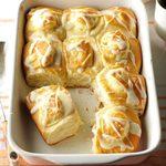 Orange Cheesecake Breakfast Rolls