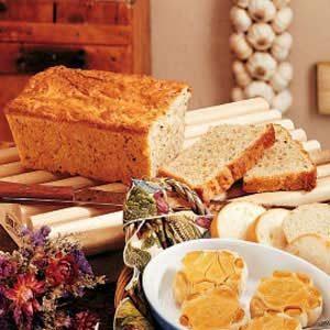 Sour Cream Herb Bread