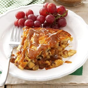 Caramel Apple Strata