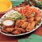 Deep-Fried Spicy Chicken Wings