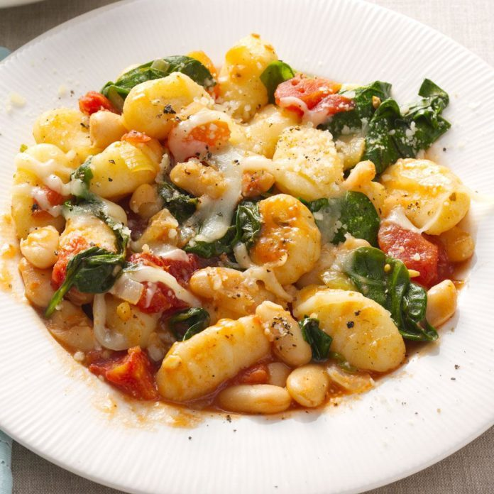 Georgia: Gnocchi with White Beans