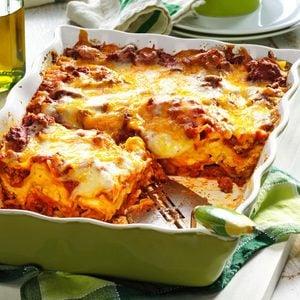 No-Fuss Lasagna