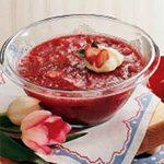 Refreshing Rhubarb Salad