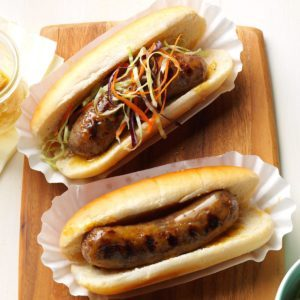 Honey-Mustard Brats